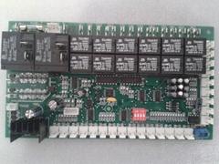 风冷冷热水模块六压机控制器