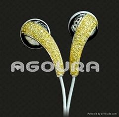 IPHONE3GS鑽石鉑金豪華耳機