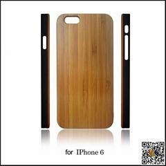 新款iphone6 4.7寸PC底木殼(直角邊)