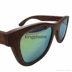 花梨木偏光鏡片太陽眼鏡