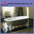 cast iron bathtub with feet