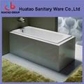 hot sale built-in Cast Iron Bathtub