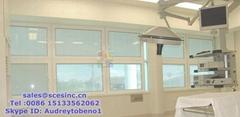 Aluminium Blinds Window Aluminium Magnetic Blinds Window (blinds between glass)