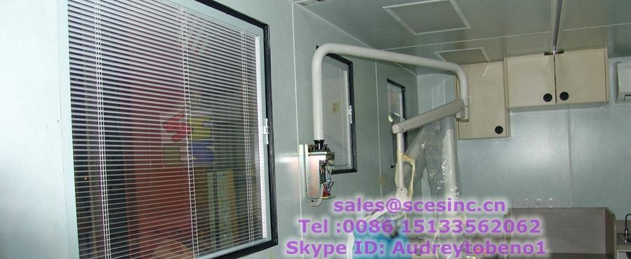 Aluminium Blinds Window Aluminium Magnetic Blinds Window (blinds between glass) 2