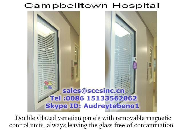 Aluminium Blinds Window Aluminium Magnetic Blinds Window (blinds between glass) 3