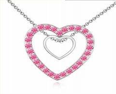 crystal design unique jewelry fashion necklace