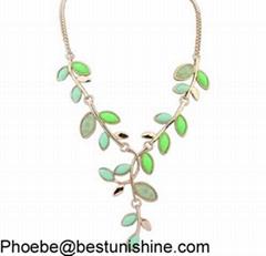 Hot selling fashion design unique jewelry statement necklace