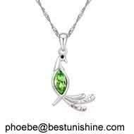 European design jewelry fashion crystal necklace