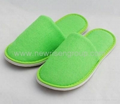 OEM high quality washable hotel slipper ,colored Hotel Slipper