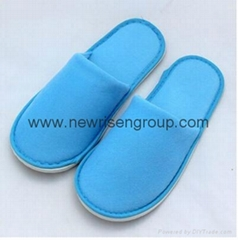 Disposable Coral Fleece Hotel Slipper Hotel Amenity Slipper Indoor Slipper