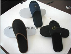 toweling hotel slippers&hotel antiskid slippers