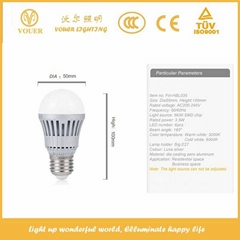 new designed energy saving E27 3.5W LED bulb light LED lighting