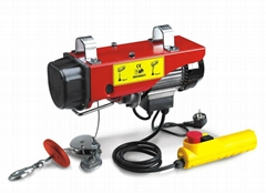 PA200 mini electric hoist 100-200kg wire rope hoist high quality CE approved