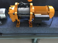 800kg electric hoist windlass elevator electric crane winch supplier