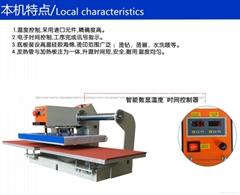 上滑式气动双工位烫画机 上滑式气动双工位数码印花机