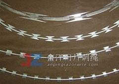 不銹鋼刀片刺繩