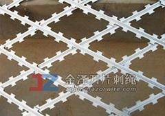 焊接式刀片刺網