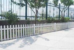 aluminium artificial grass garden fencing