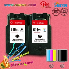 For Canon PG510XL CL511xl  inkjet cartridges bulk buy from China supplier
