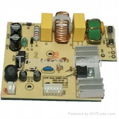 Vacuum cleaner PCB controller