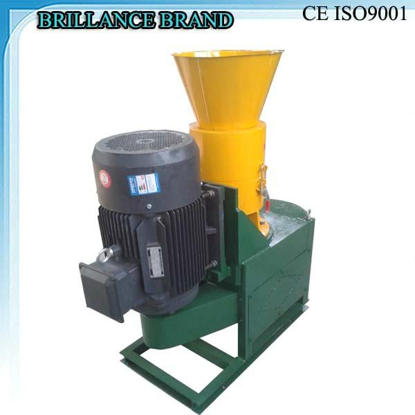 Cheap small wood pellet mill 100-250kg/h