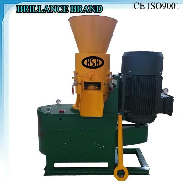 Cheap small wood pellet mill 100-250kg/h 2