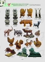 Cast iron animal