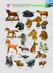 Cast iron animal (Hot Product - 1*)