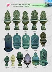 Cast iron fountain