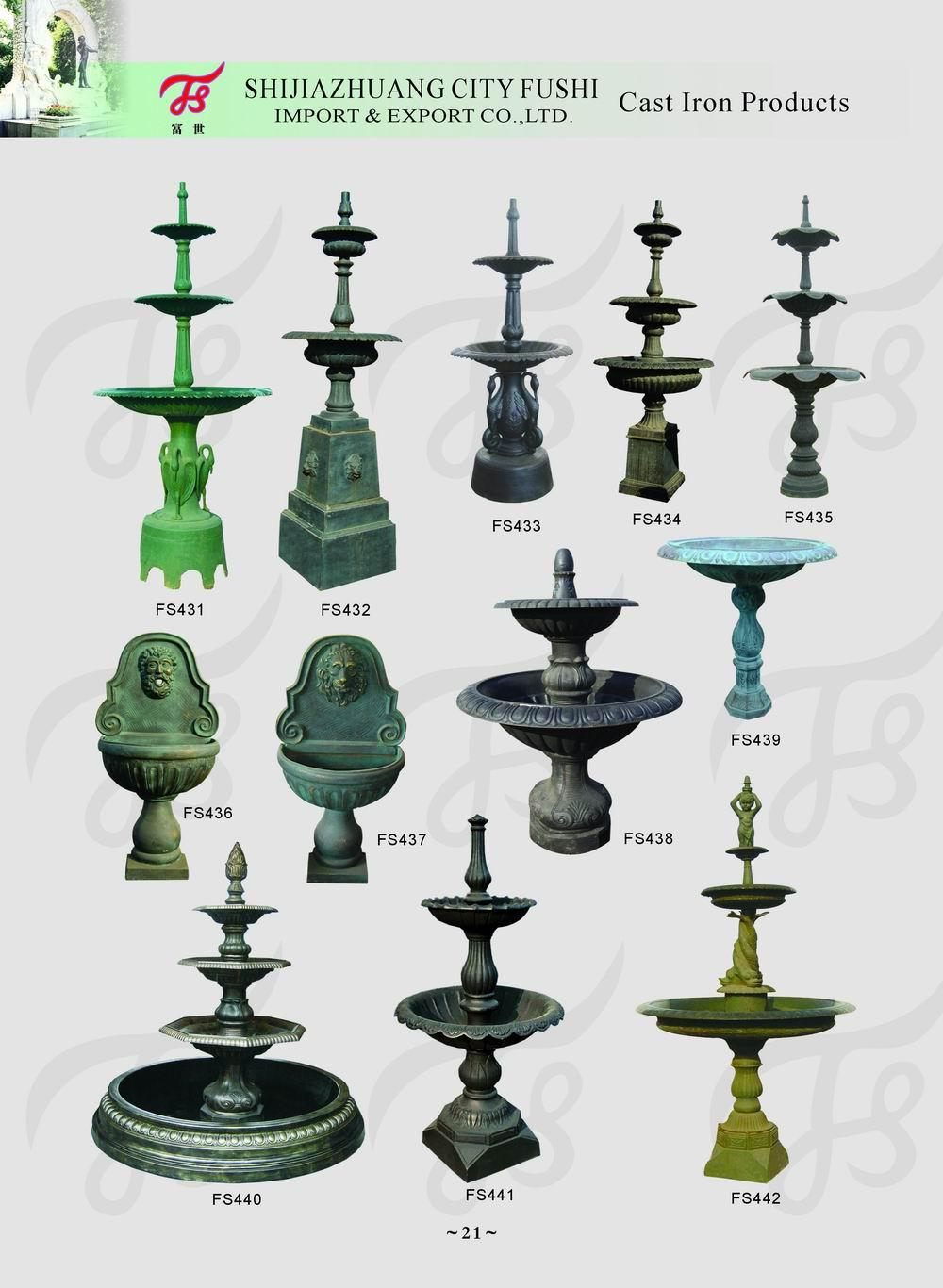 Cast iron fountain 1