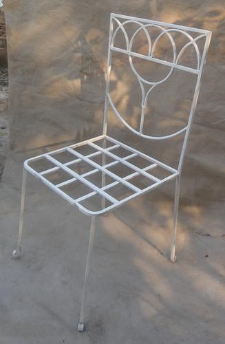 Wrought iron chair 1