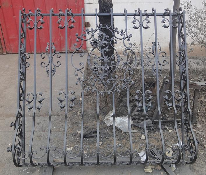 Fence gate and panel 7