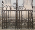Fence gate and panel