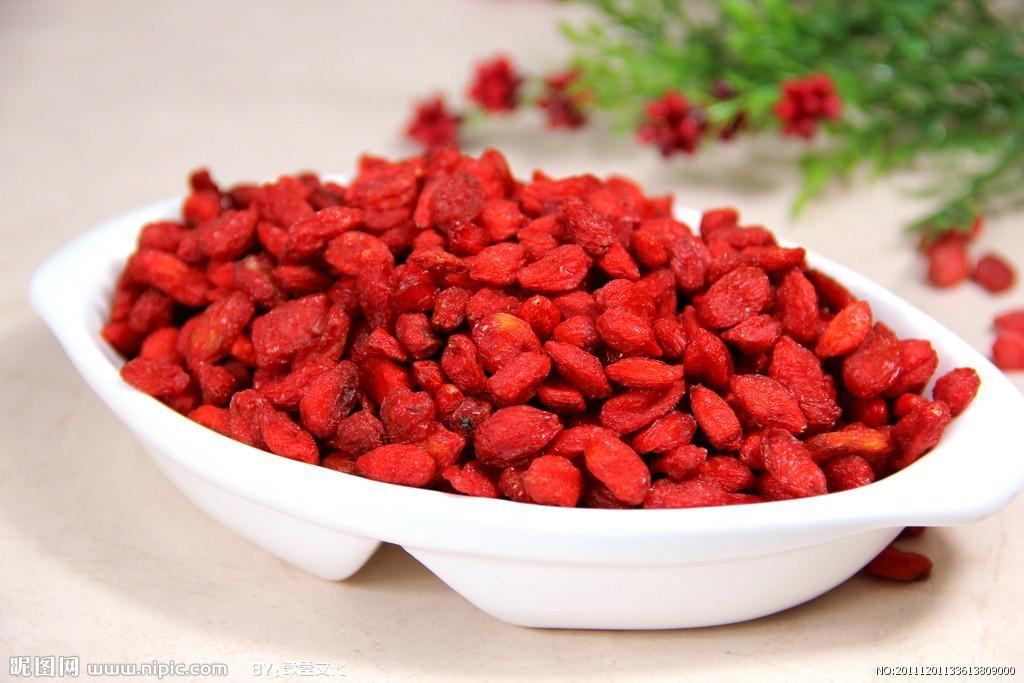 Goji Berry Supply from Ningxia China 280 pcs/50g 2