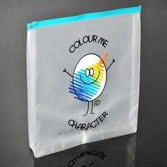 made in China pvc zipper bag packing bag