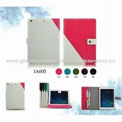 Newest desinged Leather Case for iPad Air/mini/3/4/5 cover case
