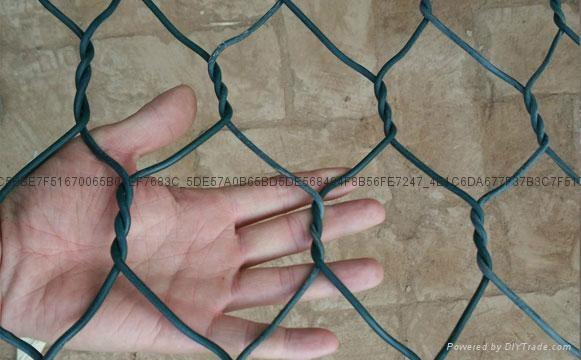 矽胶包塑石笼格宾网 1