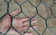 矽膠包塑石籠格賓網