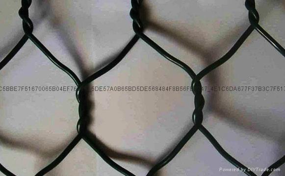 矽胶包塑石笼格宾网 2