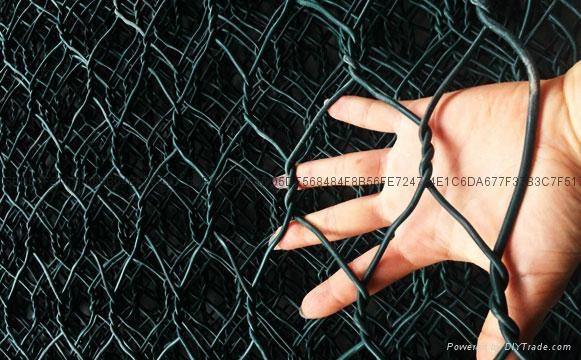 矽胶包塑石笼格宾网 4