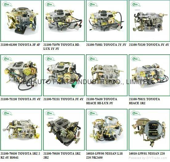 21100 11190 Engine Carburetor For Toyota Coralla 2e