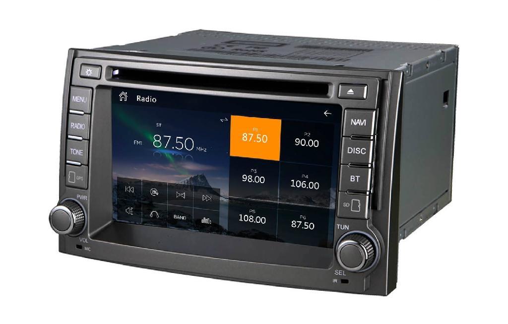 car gps for Hyundai H1 Starex   ILOAD 2007-2012  5