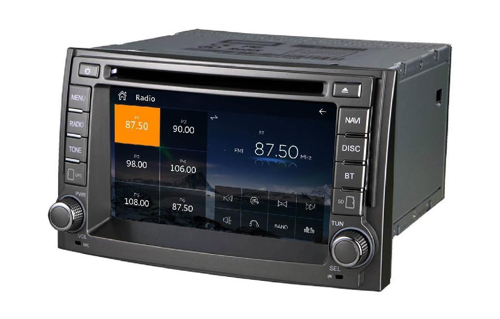 car gps for Hyundai H1 Starex   ILOAD 2007-2012  4