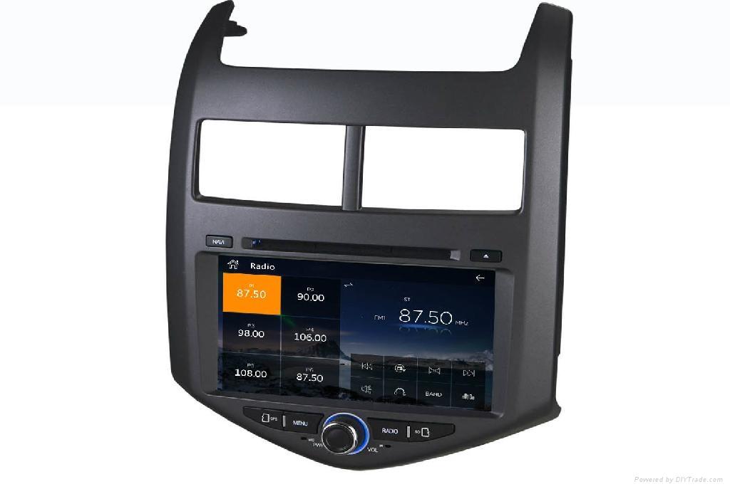 car dvd player for Chevrolet Aveo 2