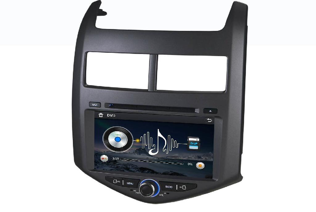 car dvd player for Chevrolet Aveo 4