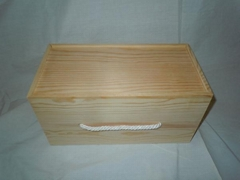 High Quality Pine Wood single double three six Wine Packing Box for Wine