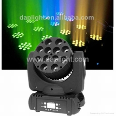 stage light 12pcs 12w cree led moving head