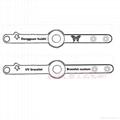 UV tester Bracelet Watch 紫外线测试橡胶感光变色手腕带 2
