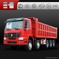 sino trucks howo dump truck low price