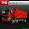 sino truck howo heavy duty dump truck
